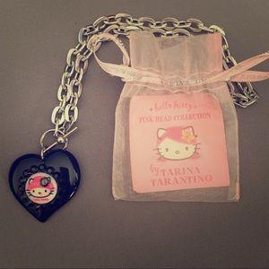 Tarina Tarantino Pink Head Collection Necklace